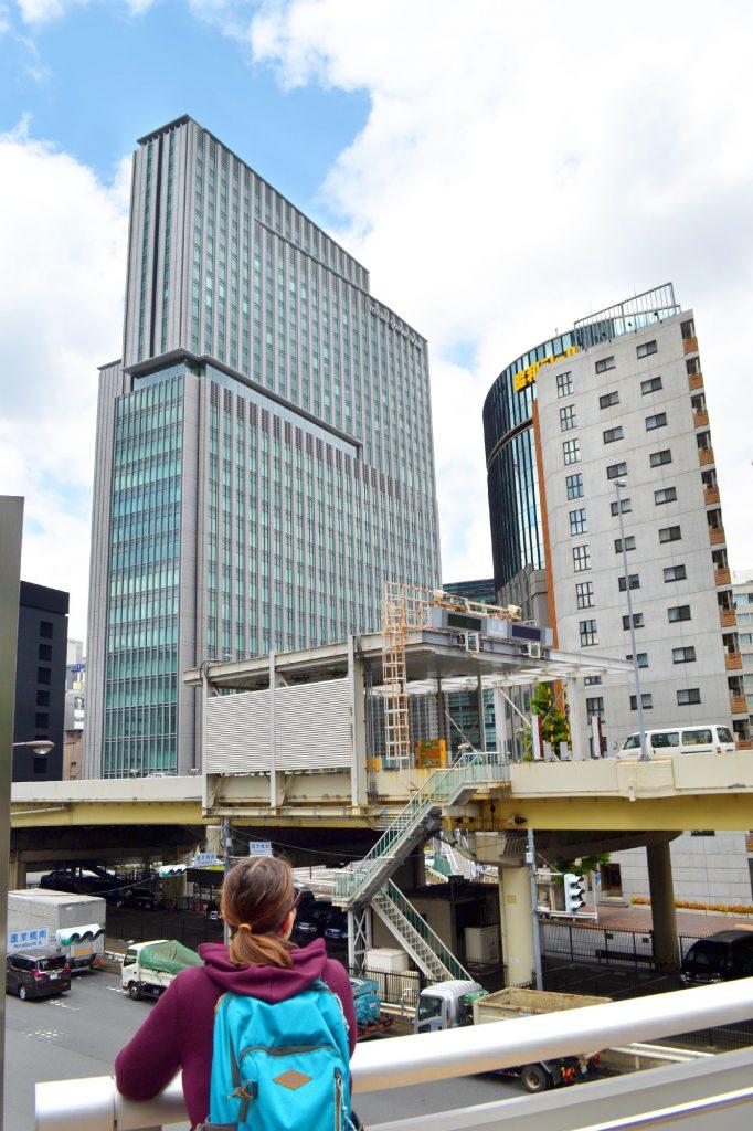 Ginza et ses buildings