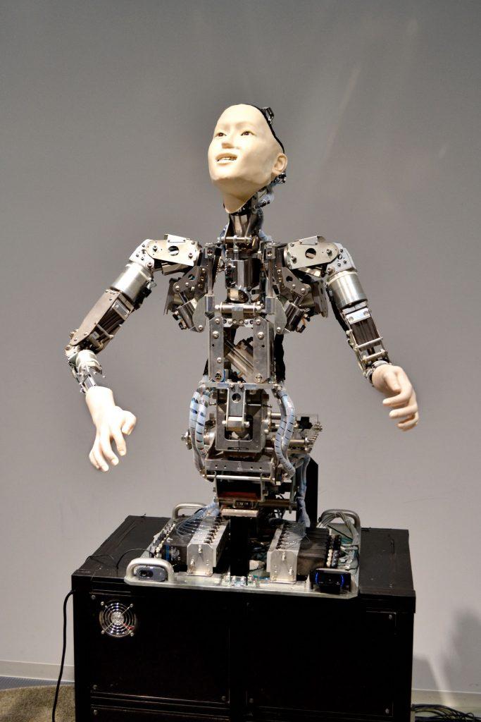 Un robot animé du Miraikan