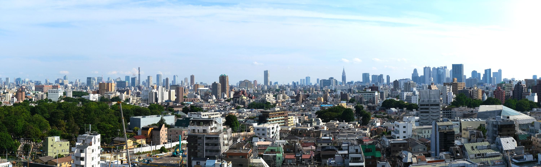 Panorama de Tokyo vue du Toshima City Office