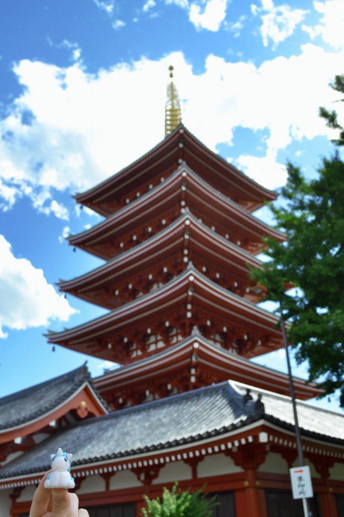 Stélie aussi visite le Sensō-ji