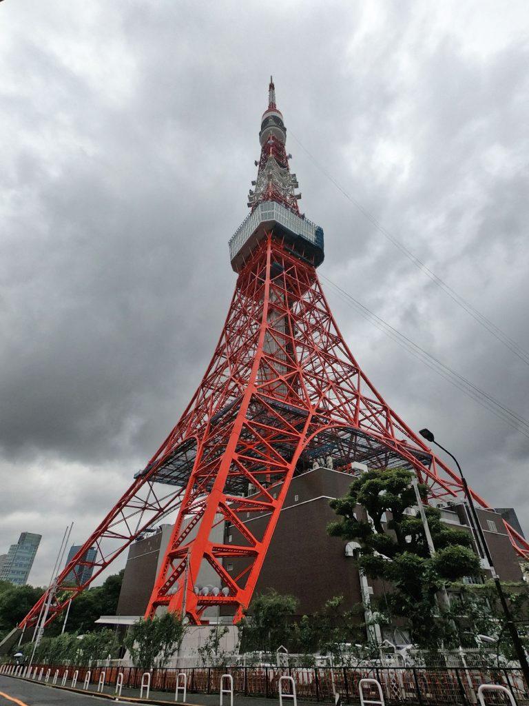 La tour de Tokyo - inspirée de la tour Eiffel