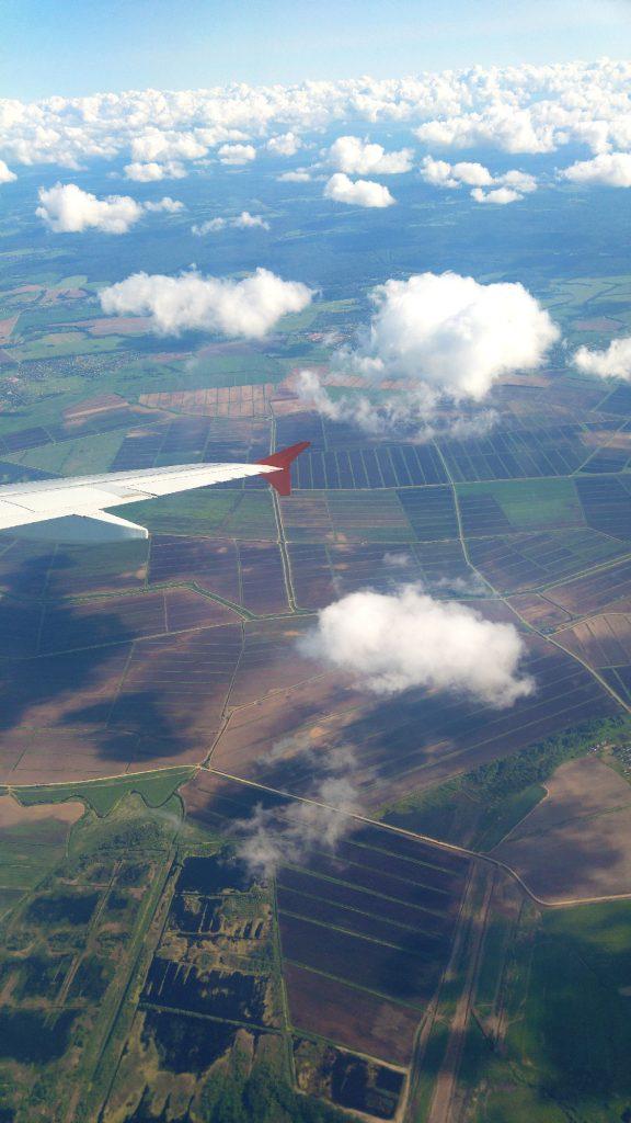 Survol de la Russie en allant vers Tokyo - Juste Ici - Le blog de voyage de Claire et Vincent