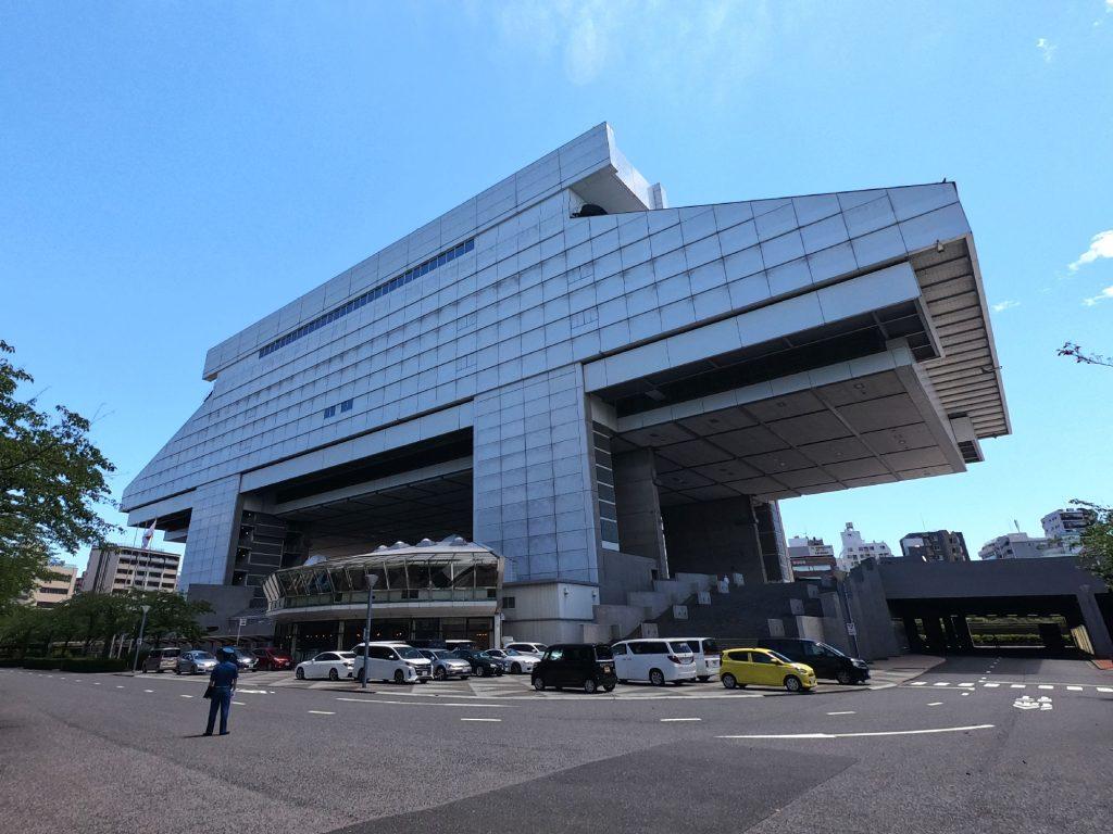 Le musée d'Edo Tokyo, un bâtiment impressionnant