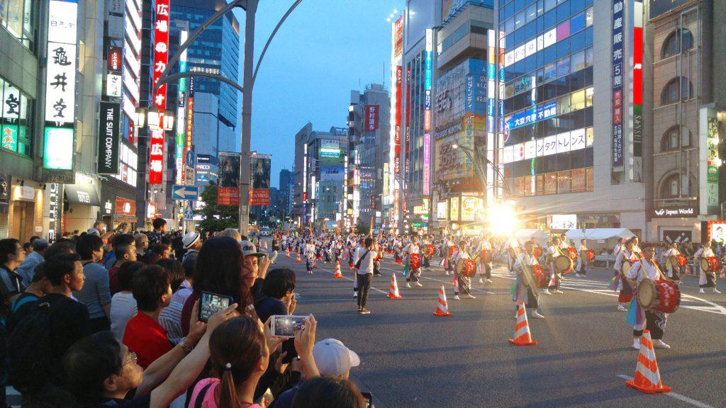 Festival à Ueno - tambours et danses