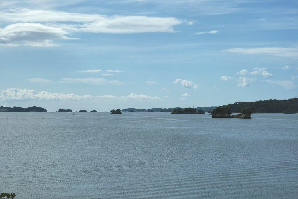 Les îles de la baie de Matsushima