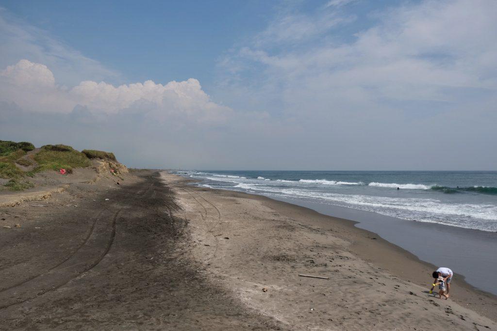 Bord de l'océan dans la préfecture de Chiba