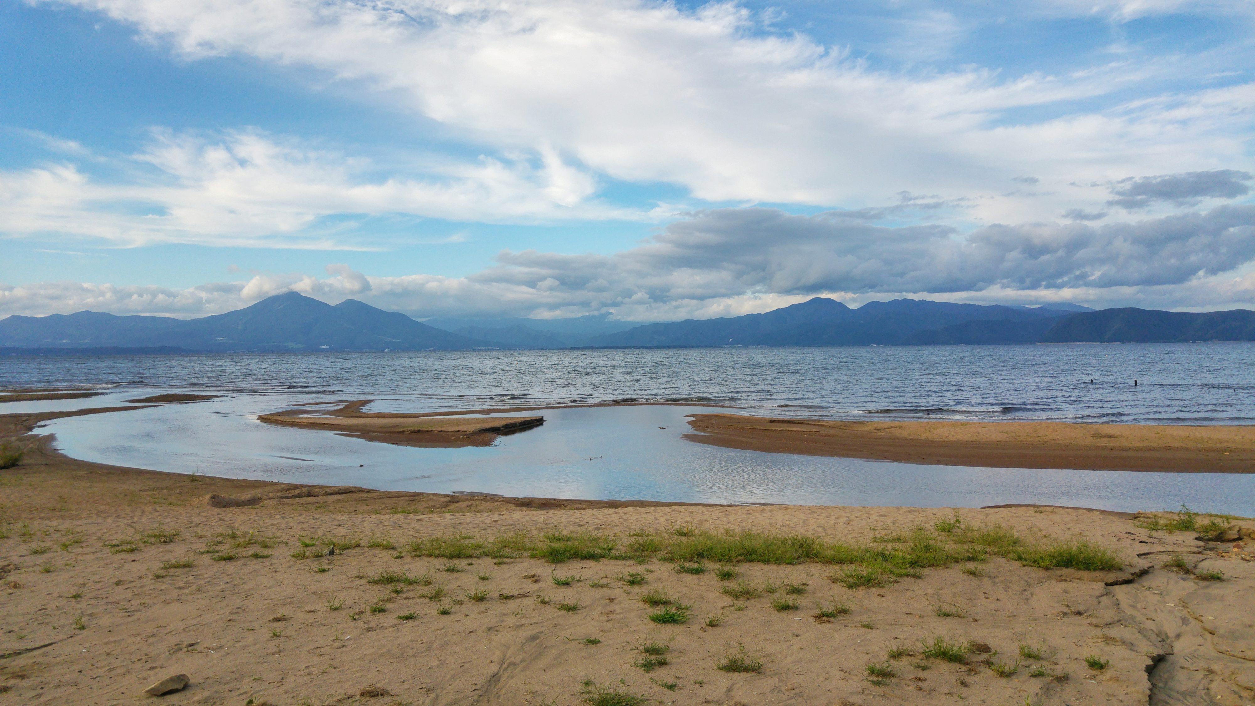 Le Mont Bandai et le lac Inawashiro