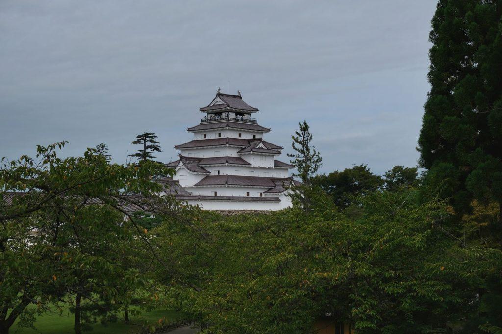 Le château d'Aizuwakamatsu