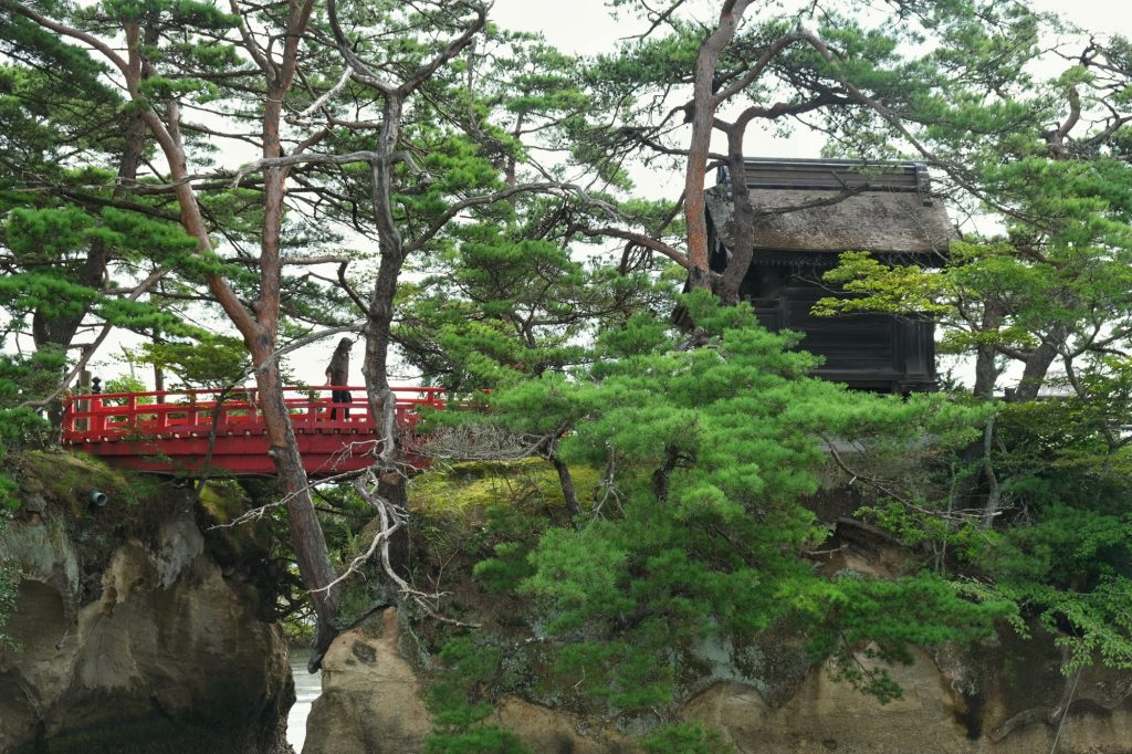 Le temple Godaido à Matsushima