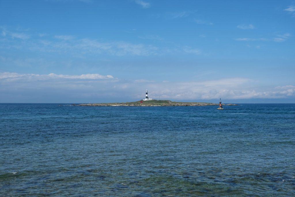 Le phare au large du cap d'Oma