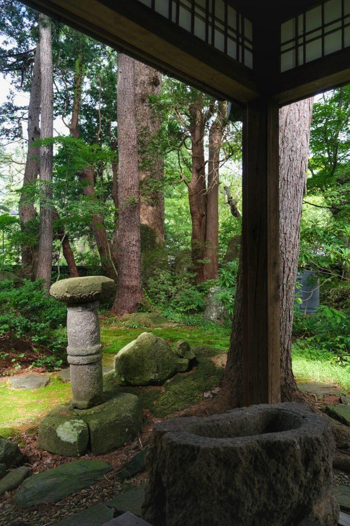 Le jardin de la maison Ishiguro