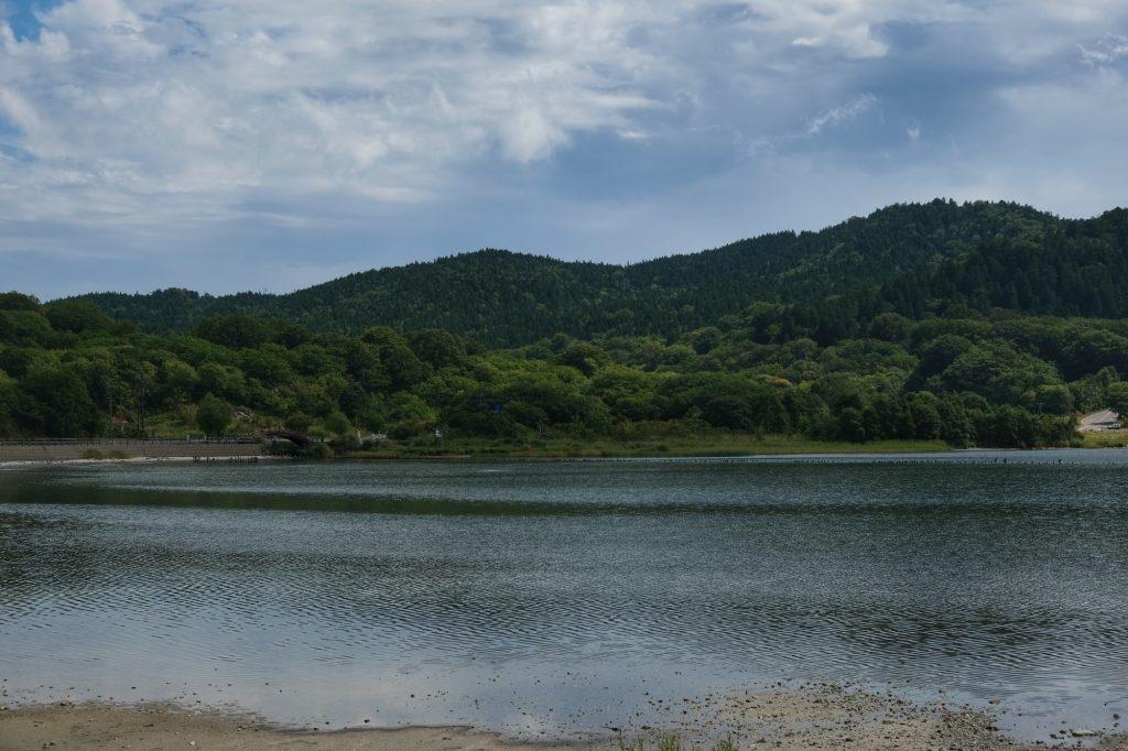 Le lac souffré de Ozore San