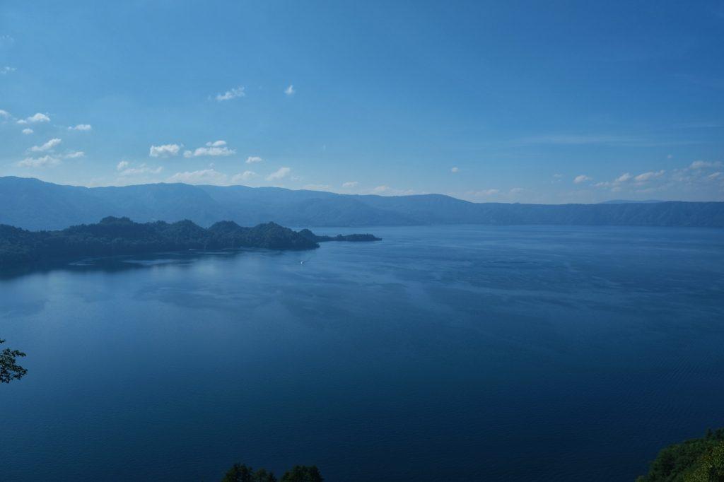 Le lac Towada dans toute sa splendeur