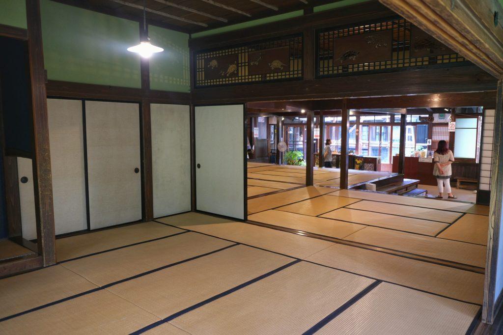 L'intérieur de la maison Ishiguro