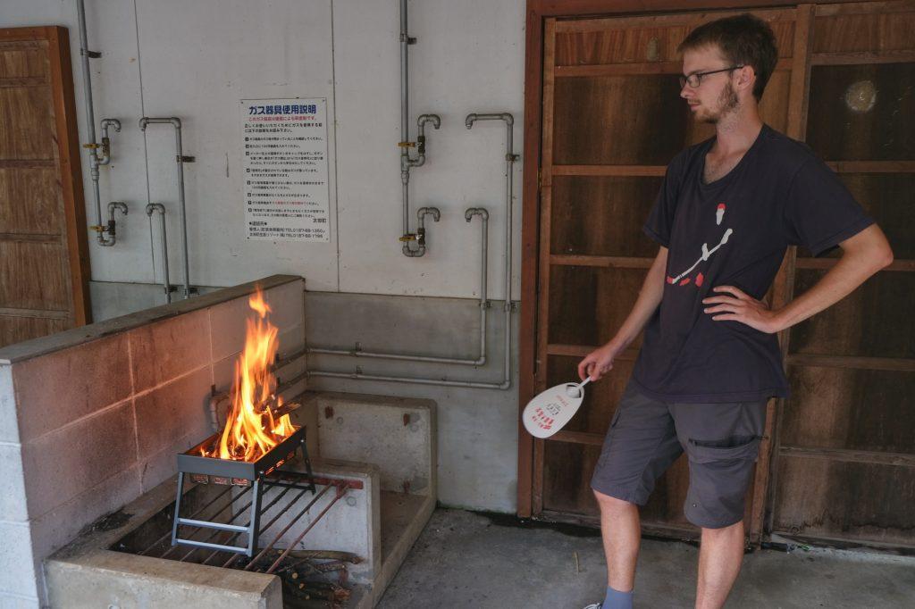 Vincent le maître du feu