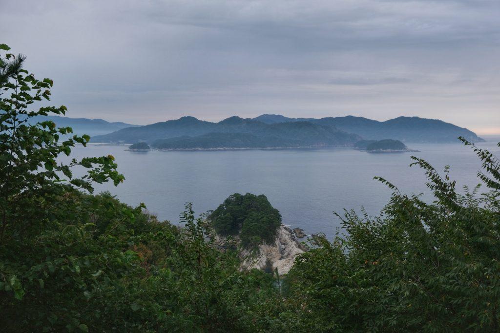 Vue sur les côtes de Sanriku Kaigan
