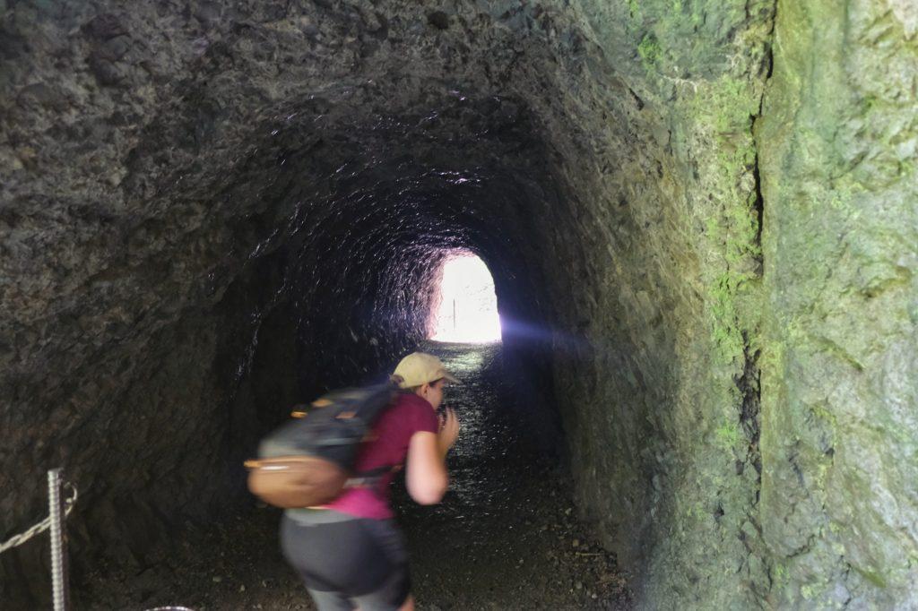 Les tunnels ne sont pas seulement visités par les touristes
