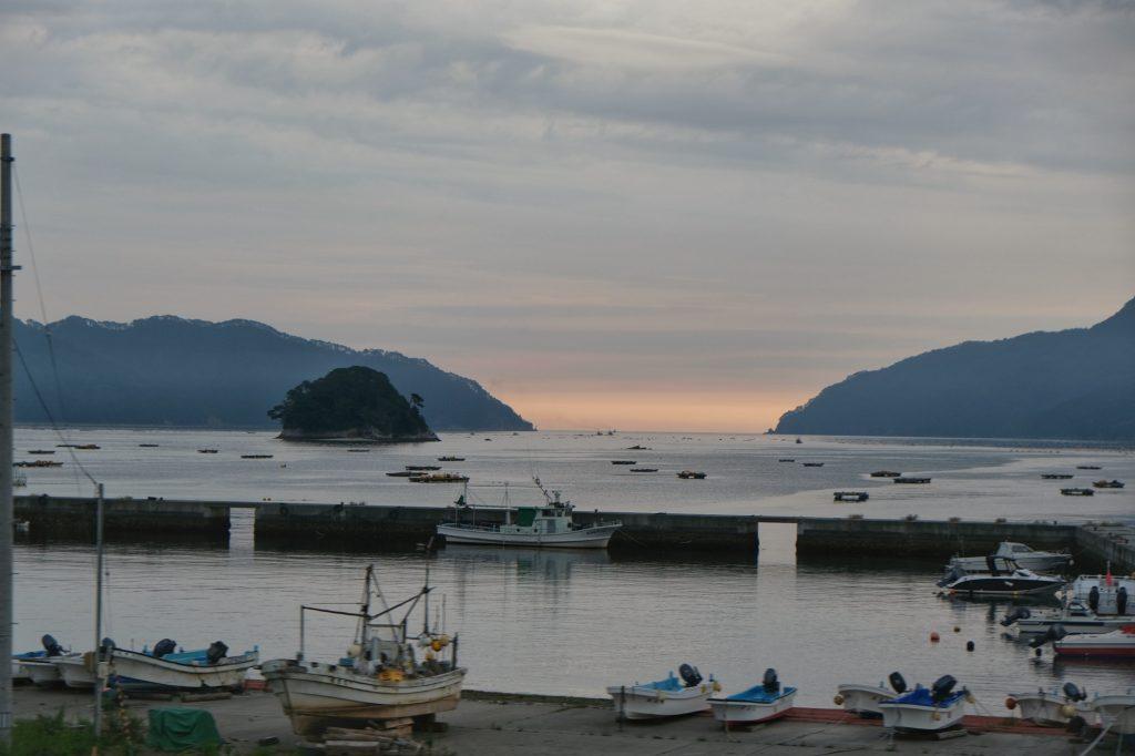 Un port dans la baie de Yamada