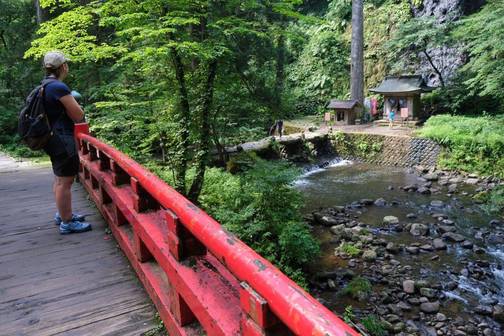 Premiers paysages de la randonnée du Haguro San