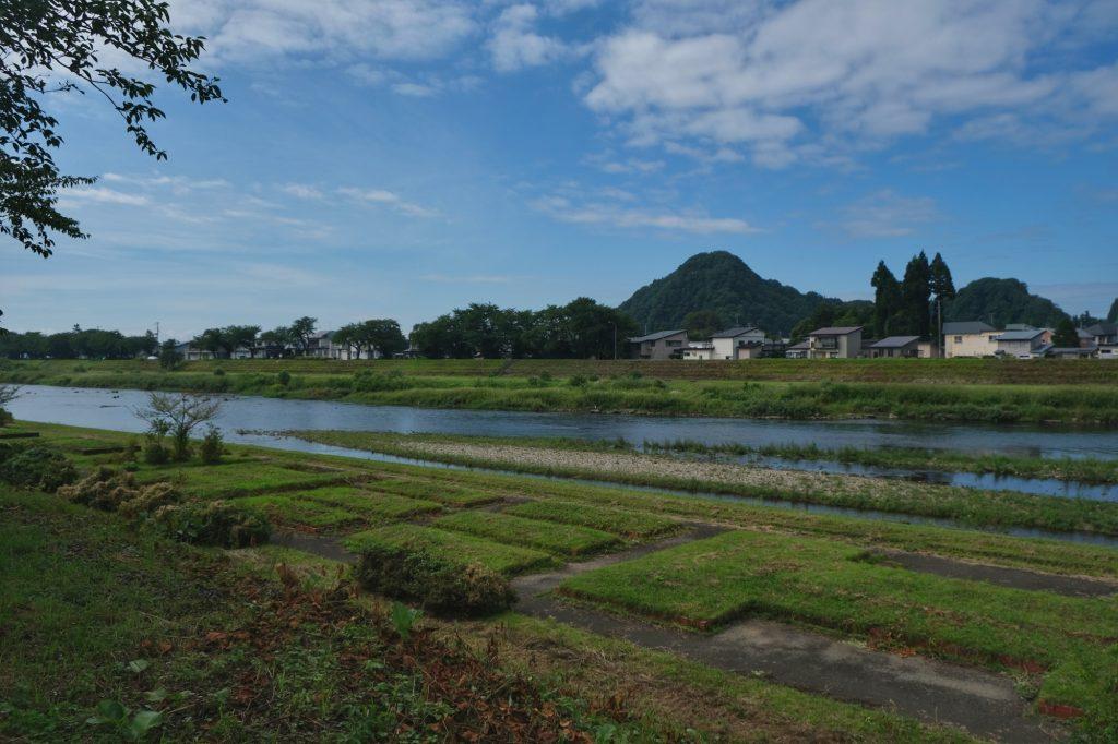 La rivière de Kakunodate
