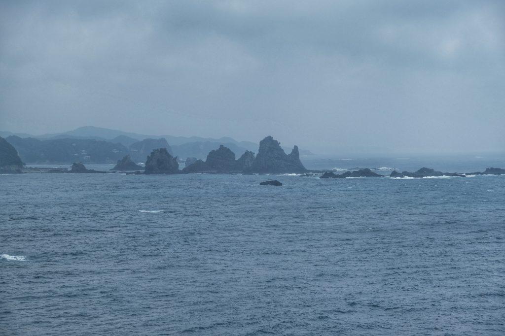 Vue de la côte depuis le cap Iro