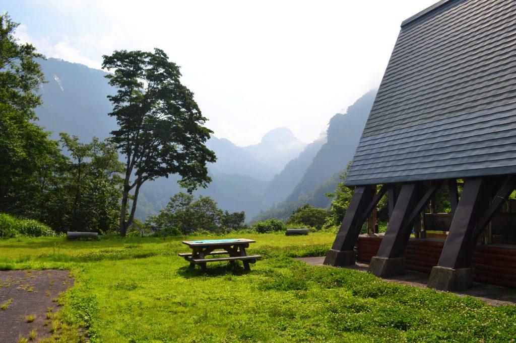 Un camping magnifique et presque vide