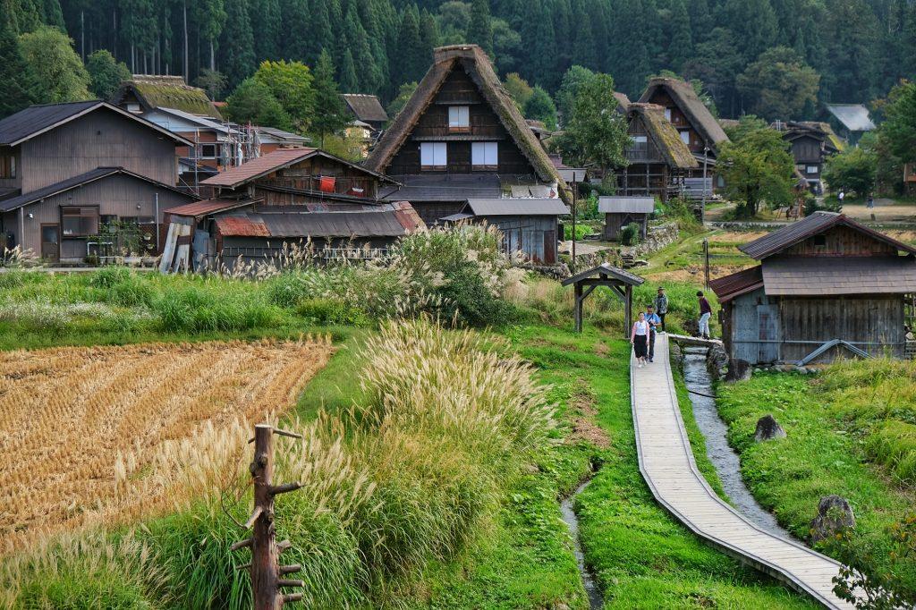 Village de Ogimachi, Shirakawa-Go