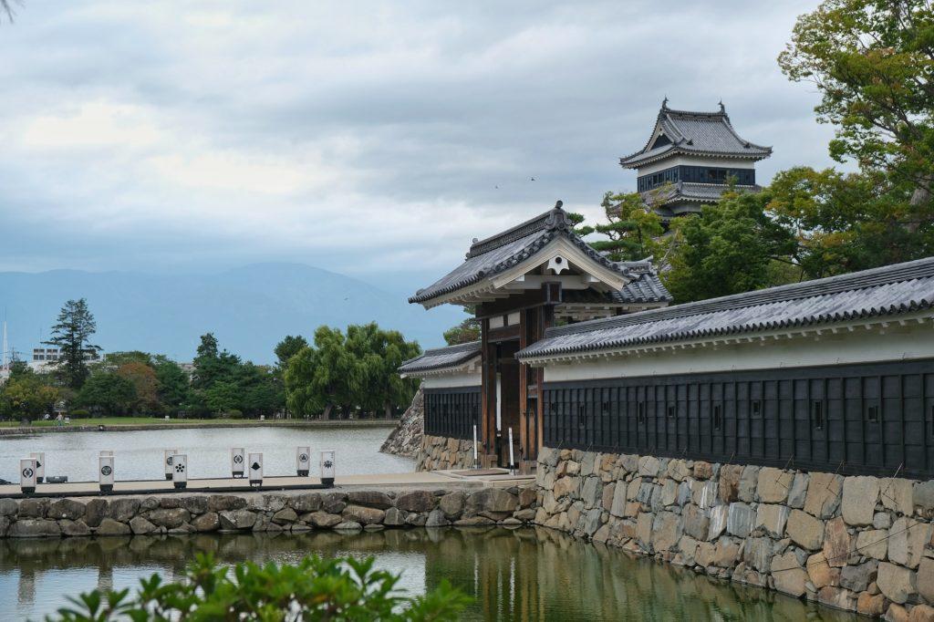 La porte du château de Matsumoto