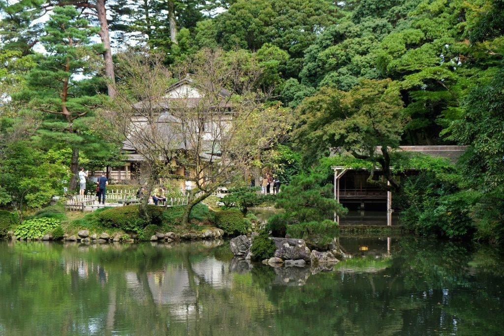 Le parc Kenrokuen du château de Kanazawa