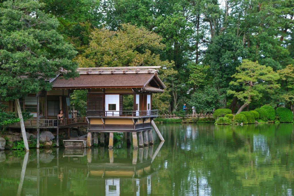 Okiya dans le parc du château de Kanazawa