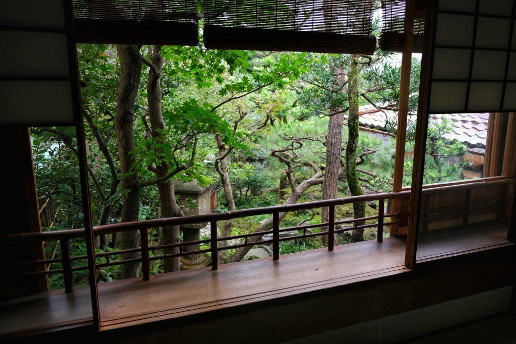 Jardin d'une maison de samouraï de Kanazawa