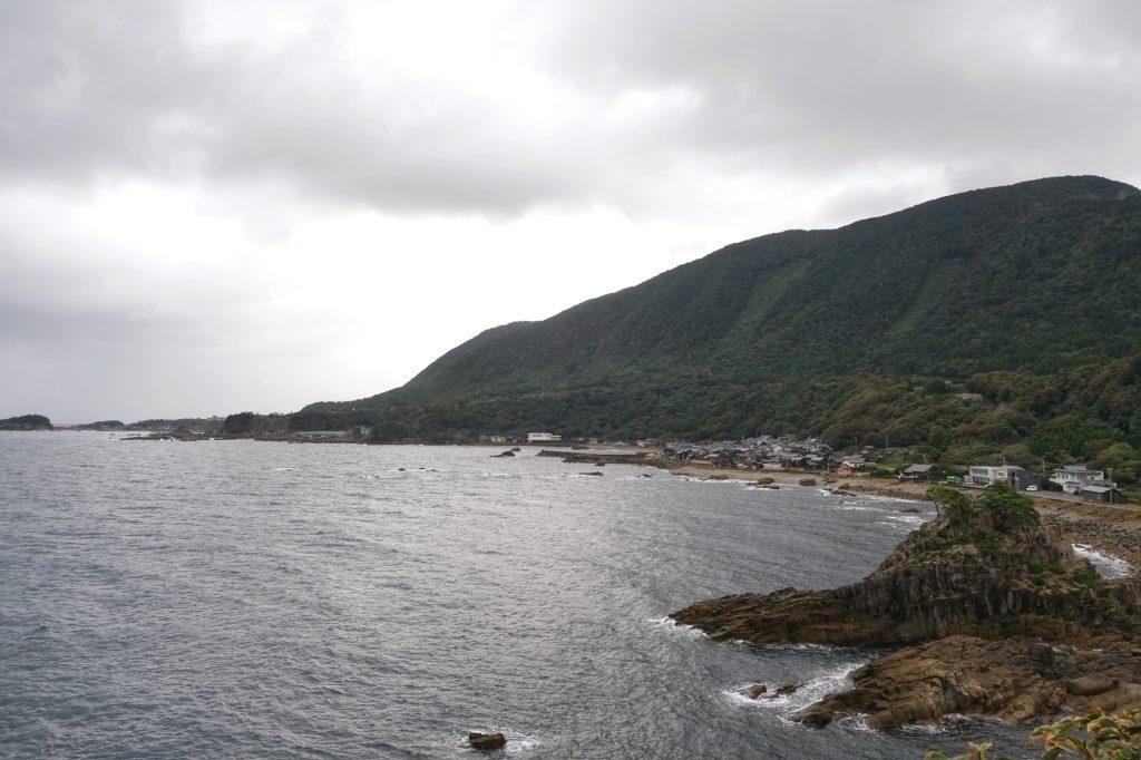 Une baie entre Kanazawa et Kyoto