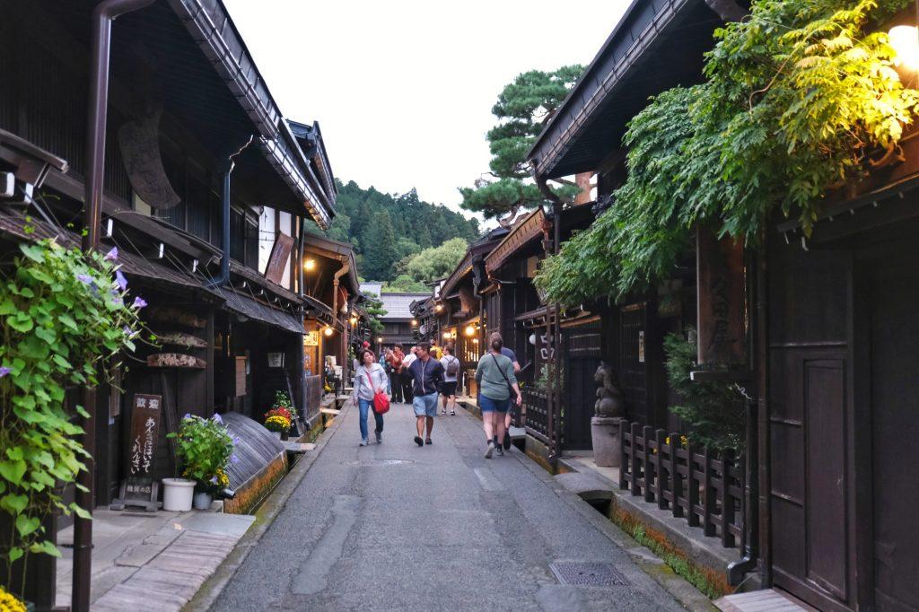 Rue traditionnelle de Takayama