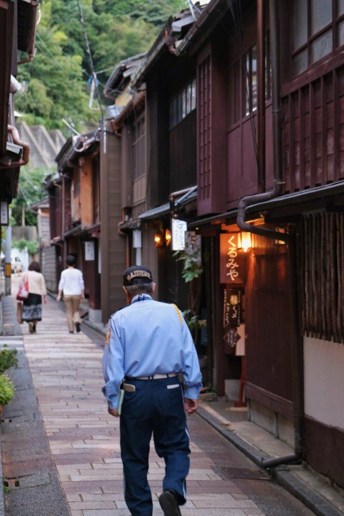 Une ruelle du quartier des Geishas de Kanazawa