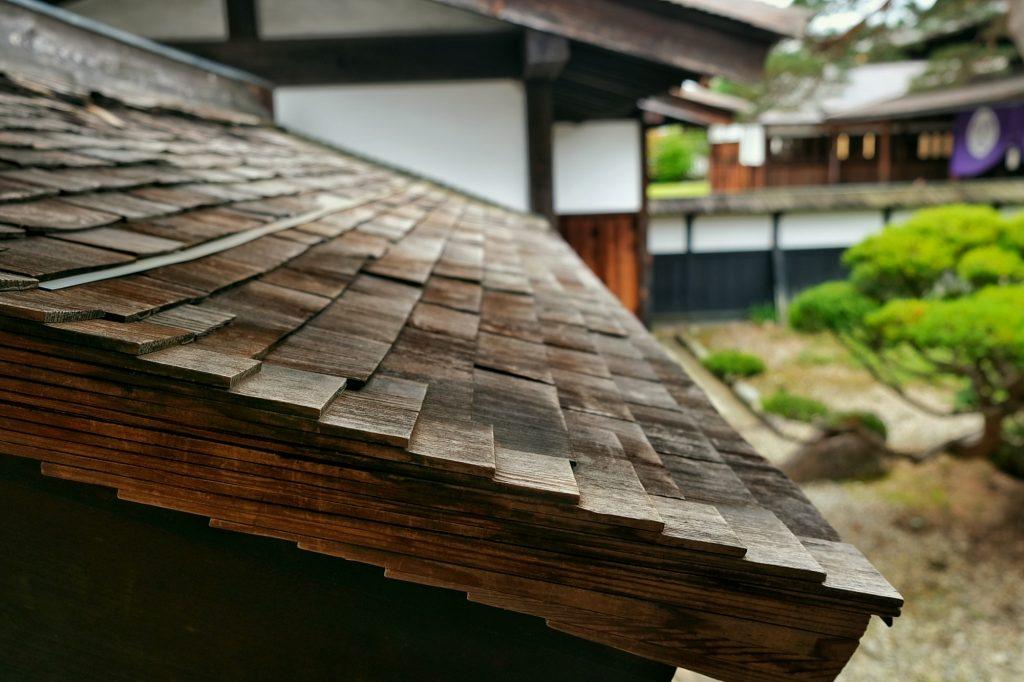 Les tuiles du Takayama Jinya