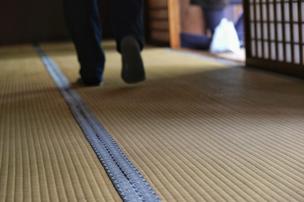 Les tatamis du Takayama Jinya