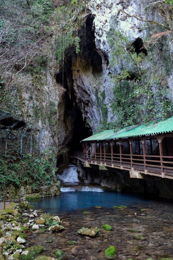 Entrée de la grotte d'Akiyoshido