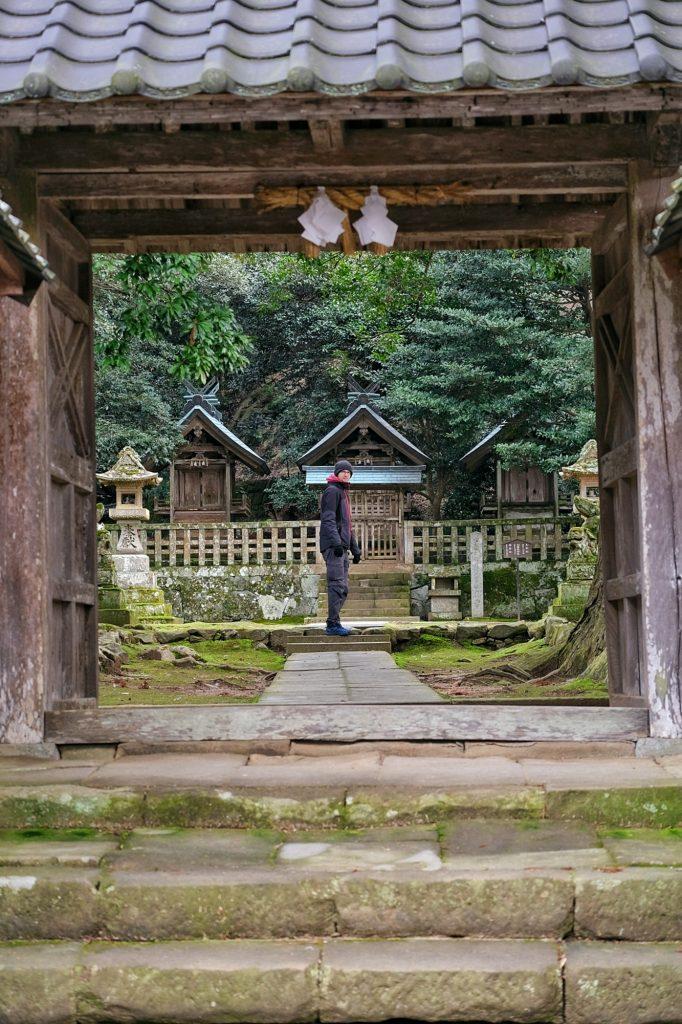 Entrée d'un temple près du Izumo Taisha