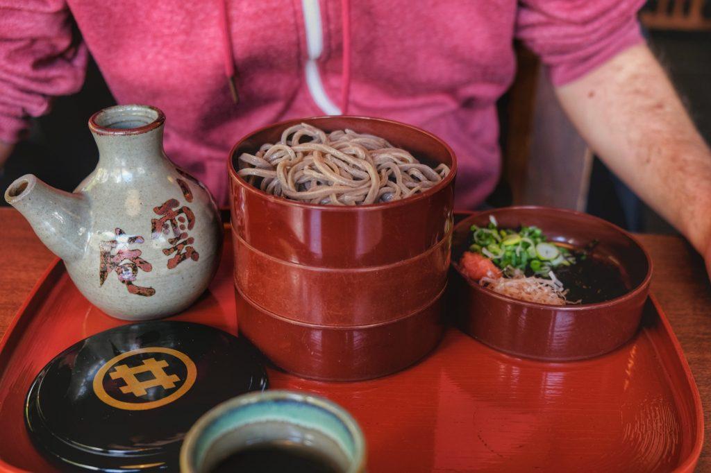 Sobas spéciales de Matsue