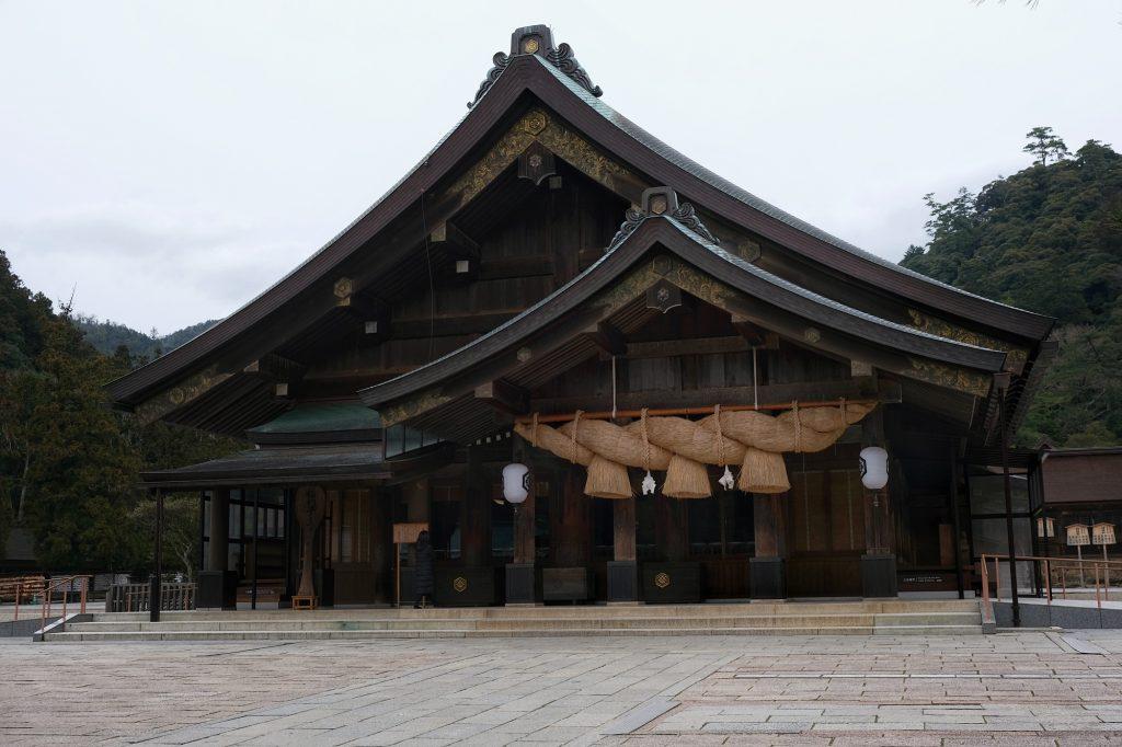 Le temple Izumo Taisha