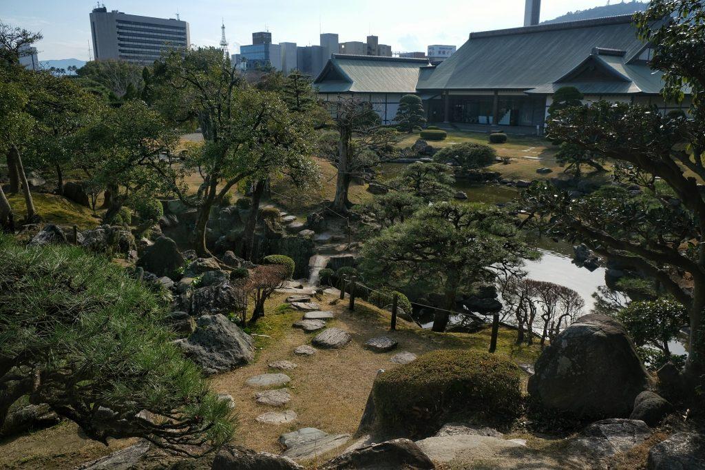 Le jardin Omote Goten de l'ancien château de Tokushima