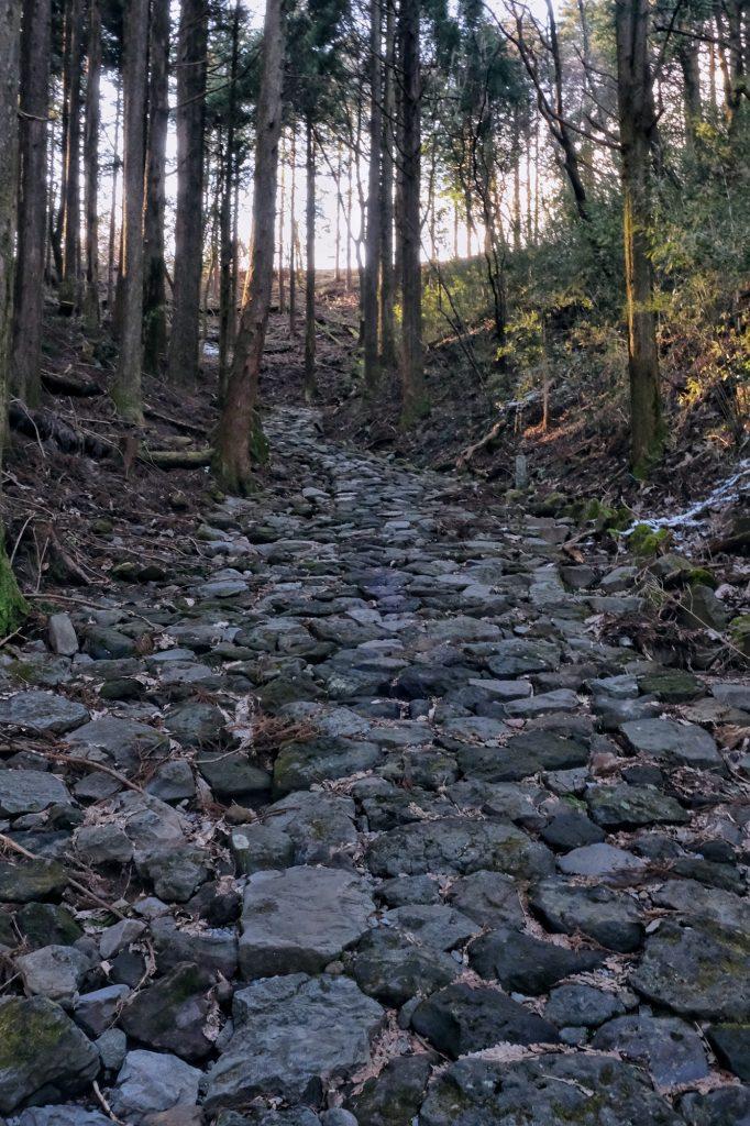 Ancien chemin pavé de la route du Tokaido