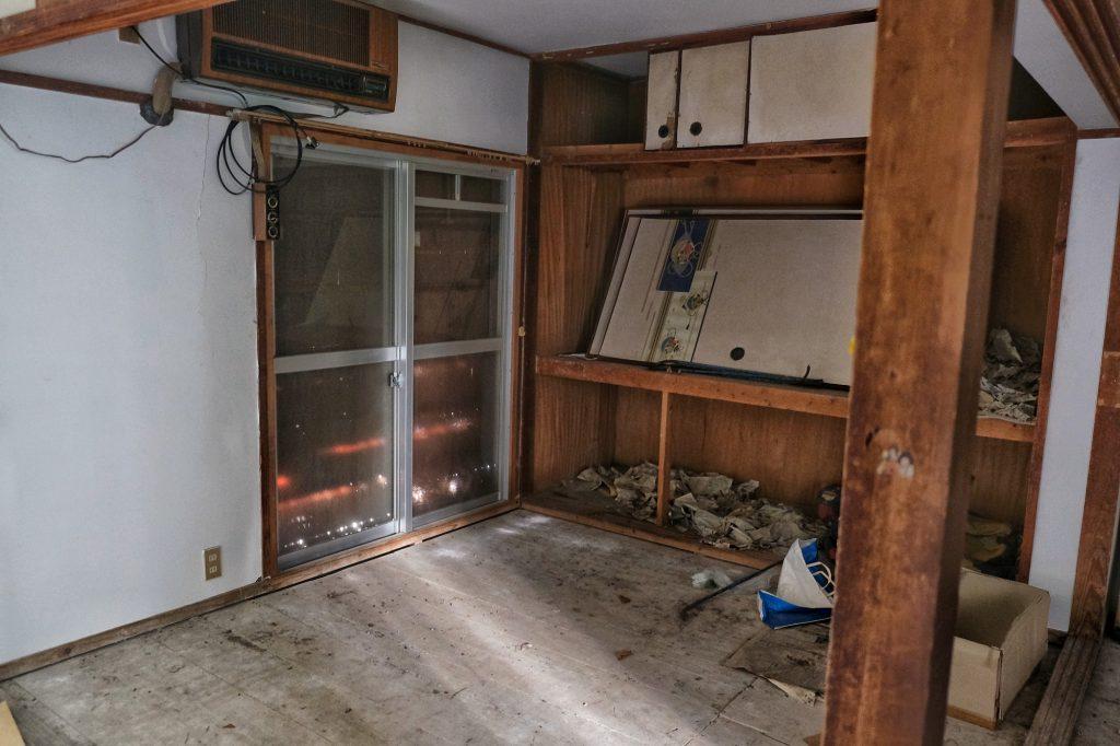 Un appartement abandonné sur l'île d'Ikeshima