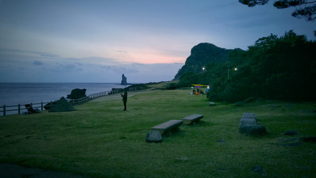 Camping de Hinokami Koen, encore un lieu agréable en bord de mer