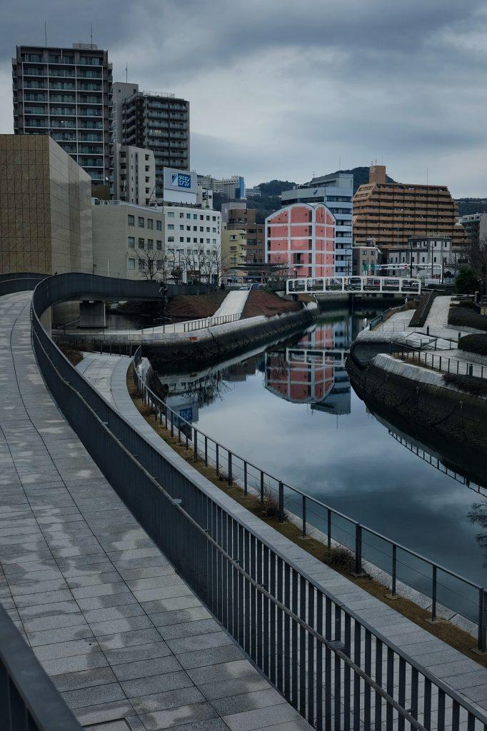 Un canal à Nagasaki