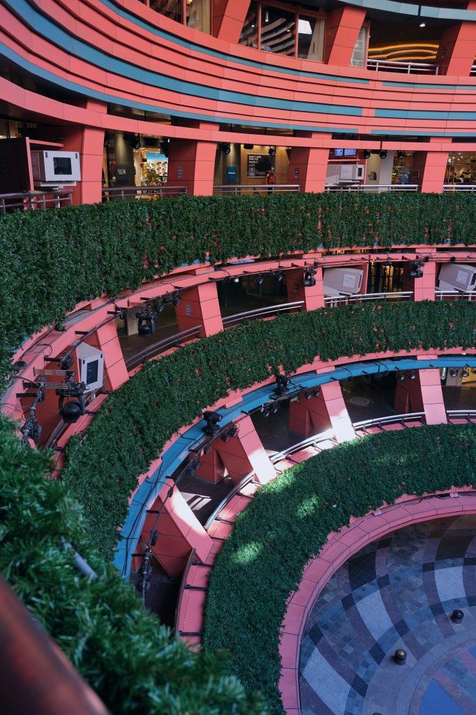 Le centre commercial Canal City à Fukuoka