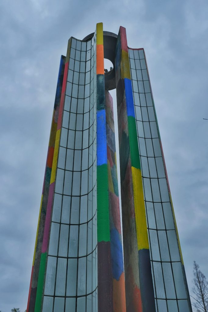 La flamme éternelle de la paix (éteinte...) à Nagasaki