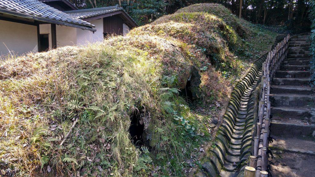 Les anciens fours des potiers de Karatsu
