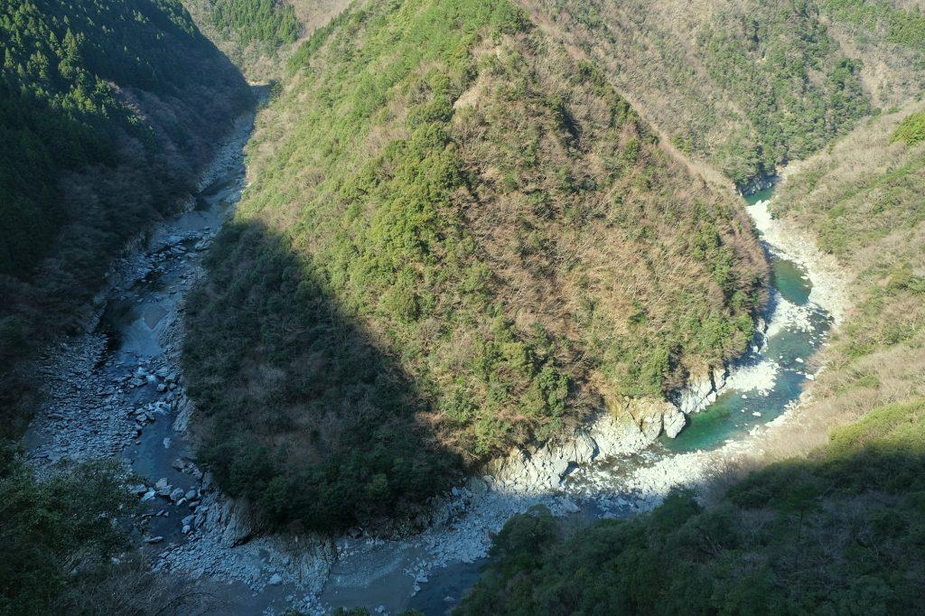 La rivière de l'Iya et le lieu-dit
