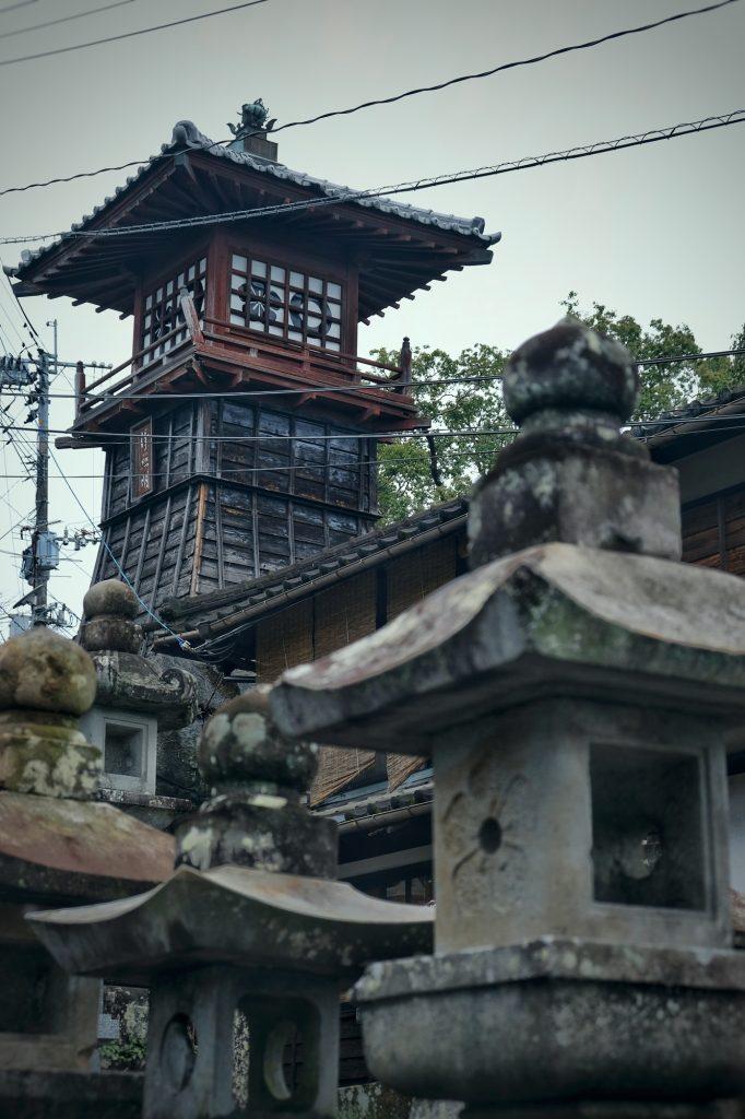 Arrivée au Honmyo-ji à Kumamoto